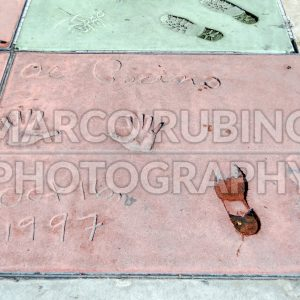 Al Pacino handprints in Hollywood Boulevard, Los Angeles, USA
