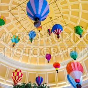 Ballons inside the Bellagio Hotel in Las Vegas, USA - Marco Rubino | Photography - Inspiring imagery for creative projects