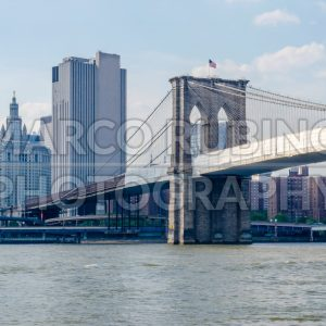 Brooklyn Bridge, New York City, USA