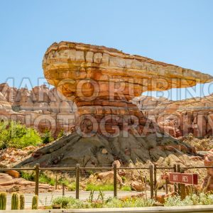 Cars Land at Disney California Adventure Park, USA