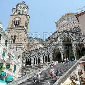 Cathedral of St Andrea in Amalfi, Italy