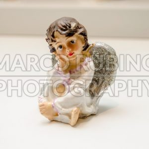 Ceramic statuette of an angel