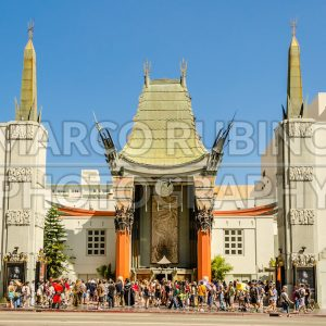 Chinese Theatre in Hollywood Boulevard, Los Angeles, USA