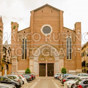 Church of Sant Anastasia in Verona, Italy