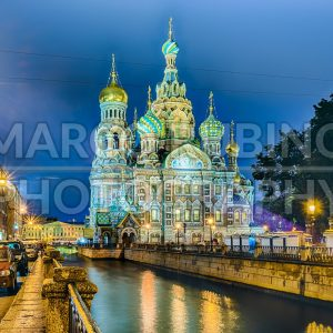 Church of the Savior on Blood at night, St. Petersburg