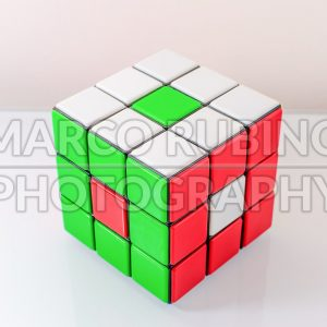 Creatively Solved Rubiks Cube