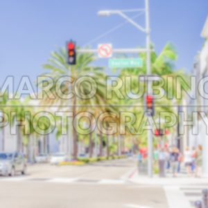 Defocused background of Rodeo Drive shopping district in Beverly Hills - Marco Rubino | Photography - Inspiring imagery for creative projects