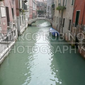 Deserted Canal, Venice, Italy