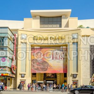 Dolby Theatre in Hollywood Boulevard, Los Angeles, USA