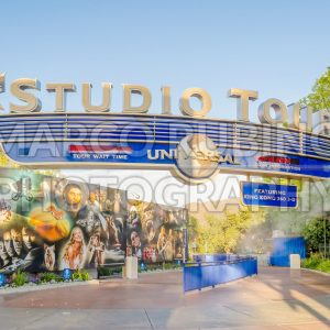 Entrance of the Studio Tour, Universal Studios in Hollywood, USA
