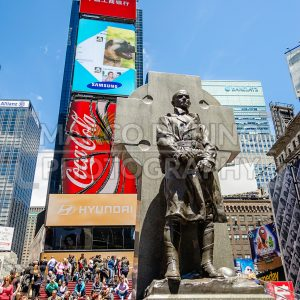 Father Duffy Monument, Times Square, New York City, USA