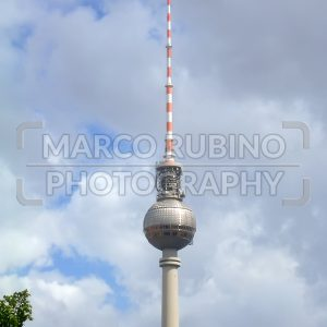 Fernsehturm, TV Tower, in Alexanderplatz, Berlin, Germany
