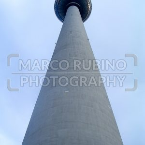 Fernsehturm (TV Tower) in Alexanderplatz, Berlin, Germany