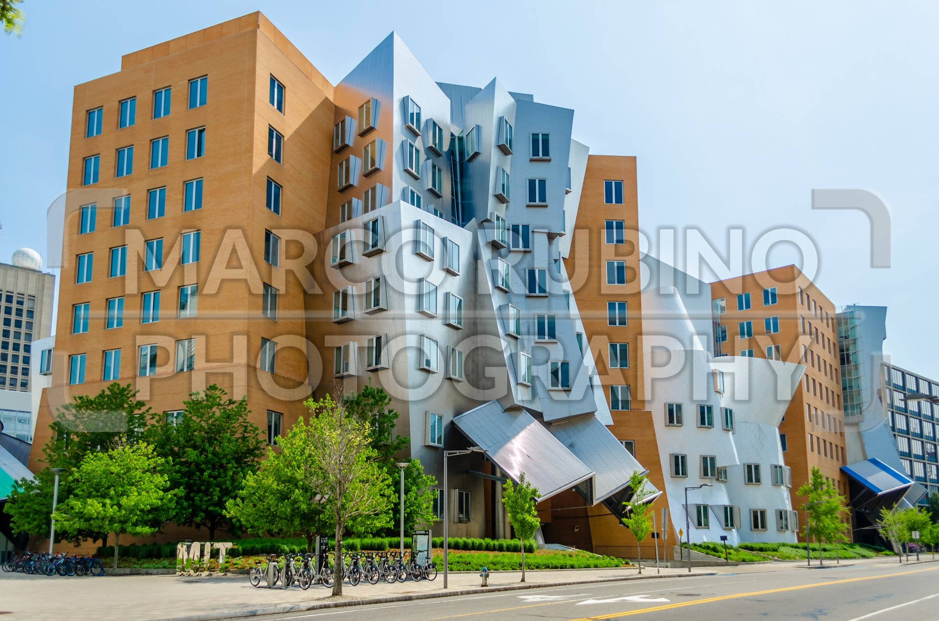 Iconic Postmodern Architecture Of MIT Strata Center Cambridge USA
