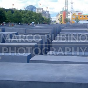Jewish Holocaust Memorial in Berlin, Germany
