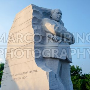 Martin Luther King Jr. Memorial in Washington DC, USA