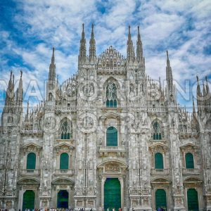 Milan Cathedral against a scenic cloudy sky, Italy - Marco Rubino | Photography - Inspiring imagery for creative projects