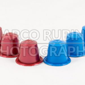 Modern unbranded colorful capsules for espresso coffee machine - Marco Rubino | Photography - Inspiring imagery for creative projects