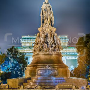 Monument to Queen Ekaterina and Her favourites, St. Petersburg, Russia