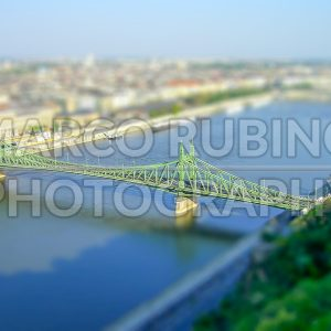 Panoramic view of Budapest and the Danube River, Hungary