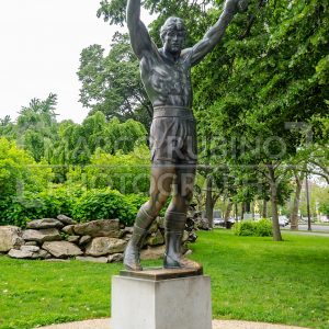 Rocky Statue in Philadelphia, Pennsylvania, USA