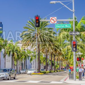 Rodeo Drive shopping district in Beverly Hills, California, USA - Marco Rubino | Photography - Inspiring imagery for creative projects