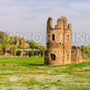 Ruins of the Circus of Maxentius, Rome, Italy