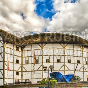Shakespeare's Globe Theatre in London, UK