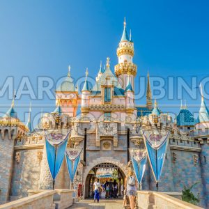 Sleeping Beauty Castle at Disneyland Park, USA