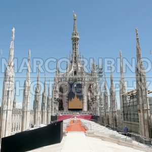 The Madonnina Statue on the roof of Milan Gothic Cathedral, Italy - Marco Rubino | Photography - Inspiring imagery for creative projects