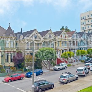 The Painted Ladies in Alamo Square, San Francisco, USA