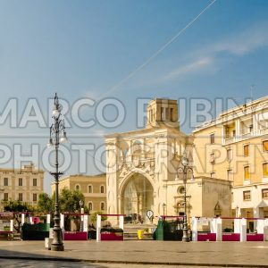 The scenic Sant'Oronzo square in Lecce, Salento, Italy