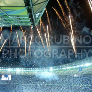 Victory Celebration at Olympiastadion in Berlin, Germany