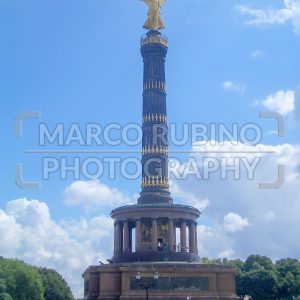 Victory Column, iconic landmark in Berlin, Germany