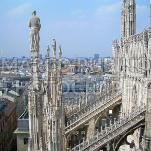 View from the top of Milan Cathedral, Italy - Marco Rubino | Photography - Inspiring imagery for creative projects