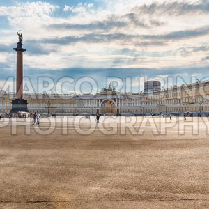 View of Palace Square in St. Petersburg, Russia