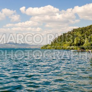 View of the Lake Bracciano, Italy