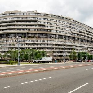 Watergate Complex buildings in Washington DC, USA