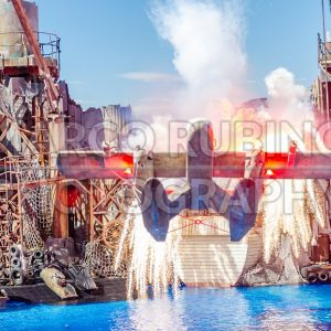 Waterworld Show at the Universal Studios, Hollywood, USA