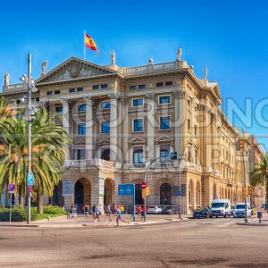 Building of the military government (Gobierno militar), Barcelona, Catalonia, Spain