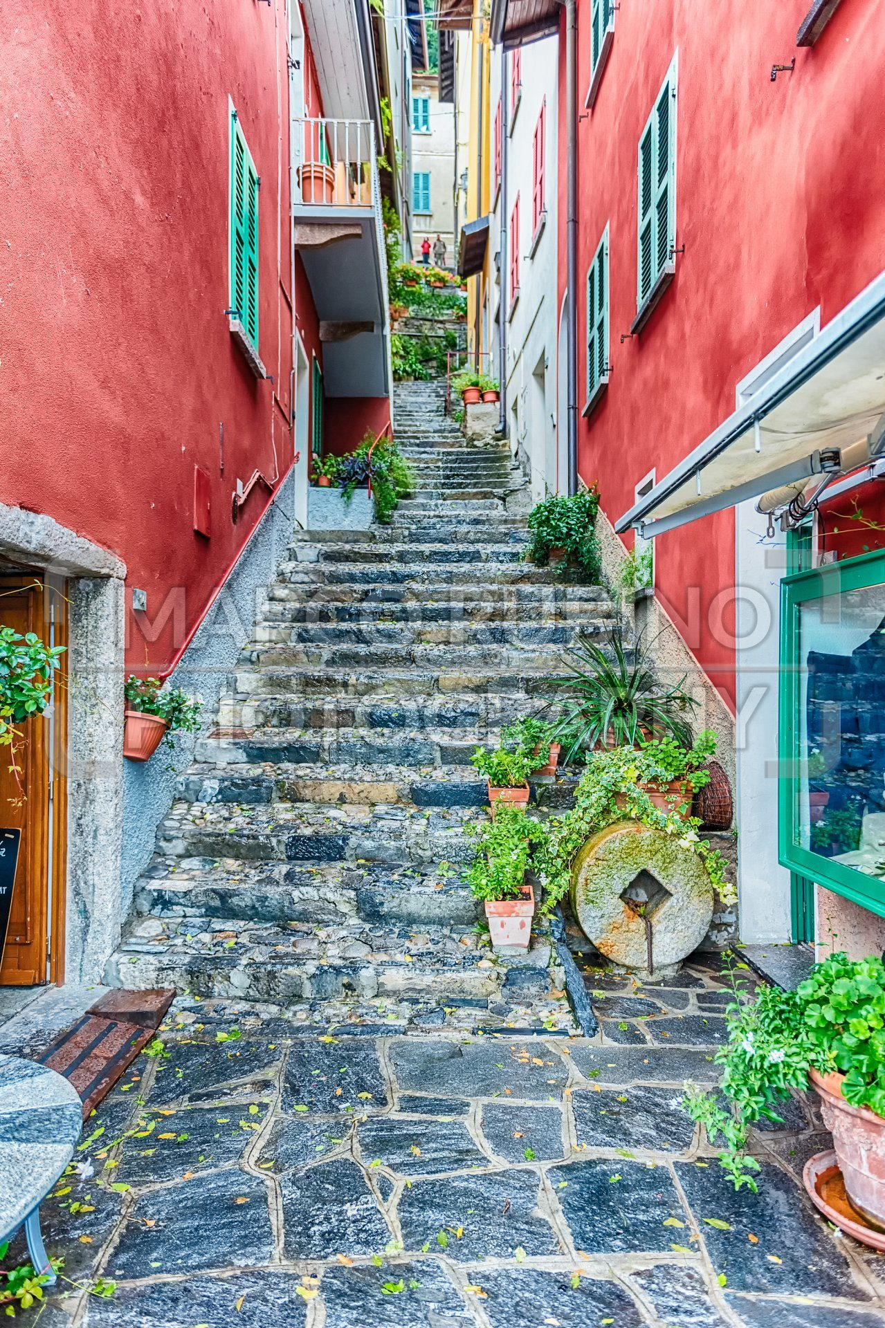 Scenic alley in Varenna town, Lake Como, Italy - Marco Rubino | Photography - Inspiring imagery for creative projects