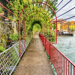 Scenic walkaway in Varenna town, Lake Como, Italy - Marco Rubino | Photography - Inspiring imagery for creative projects