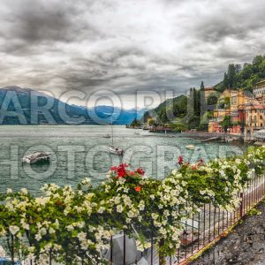 The picturesque village of Varenna over the Lake Como, Italy