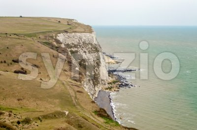 The white cliffs of Dover, UK Stock Photo