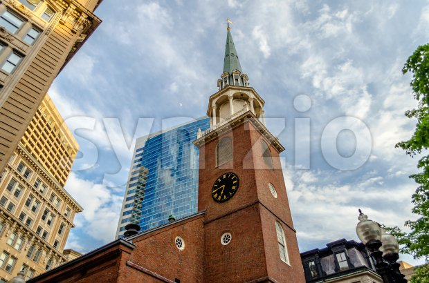 Old South Meeting House, Boston, USA Stock Photo