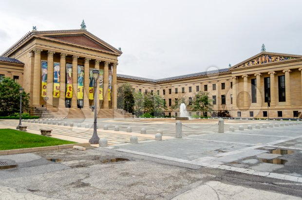 Philadelphia Museum of Art, Pennsylvania, USA Stock Photo