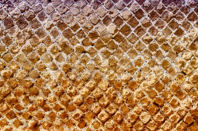 Red Stone Brick Wall Texture, may use as background Stock Photo