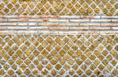 Stone Brick Wall Texture, may use as background Stock Photo