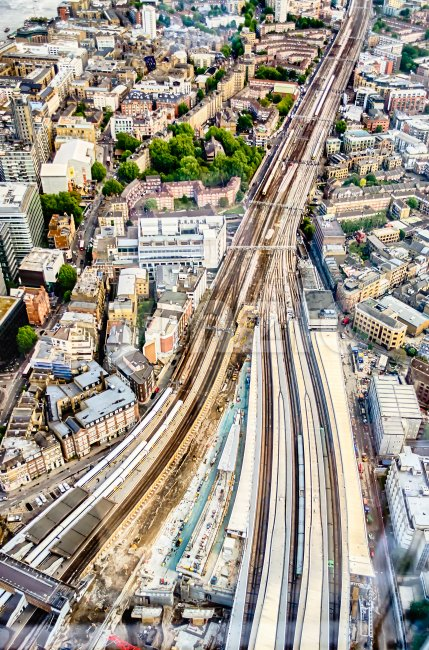 London Bridge Station, UK Stock Photo