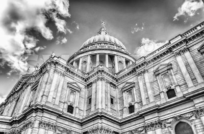 St. Paul Cathedral, London, UK Stock Photo
